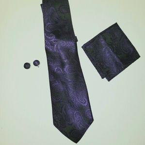 Men's 4 pc tie set